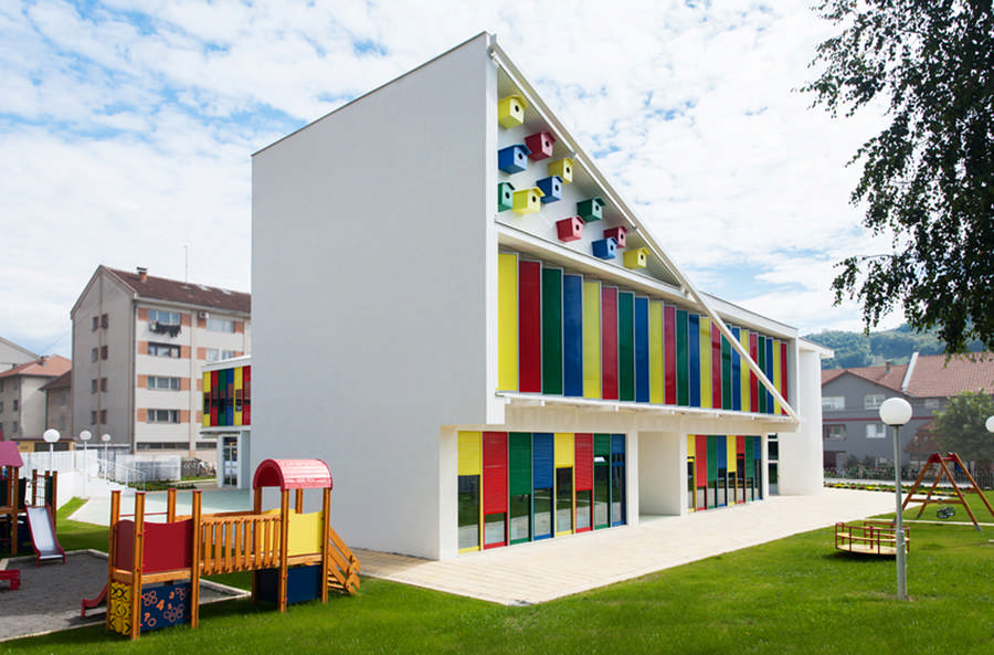 Kindergarten Buildings - Nursery Designs, Architecture - e-architect