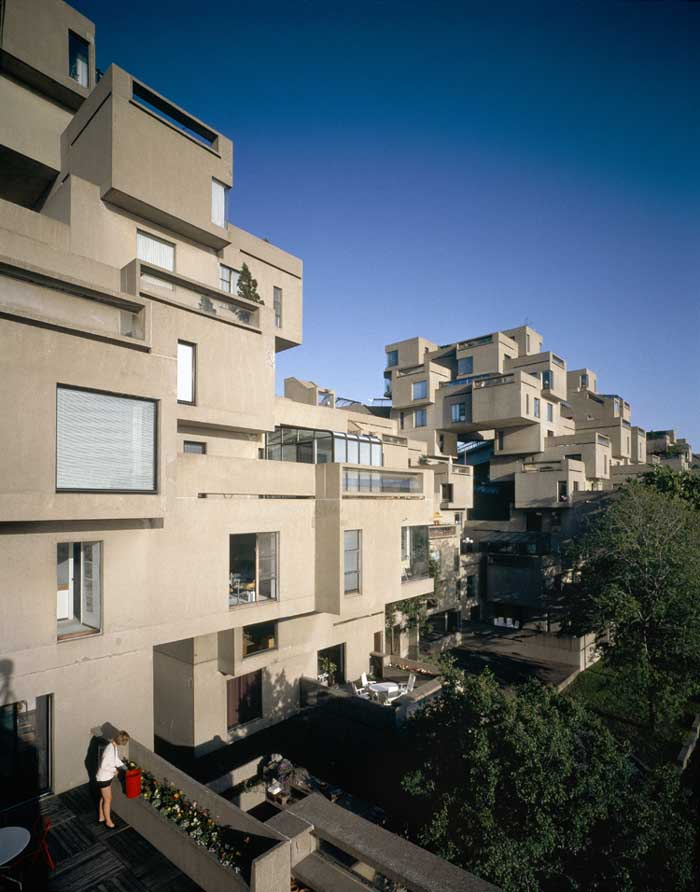 Habitat 67 moshe safdie montreal building architect e for Habitat 67 architecture