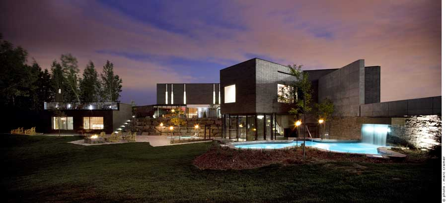 Spa nordique montreal nuns island e architect - Salon architecture ...