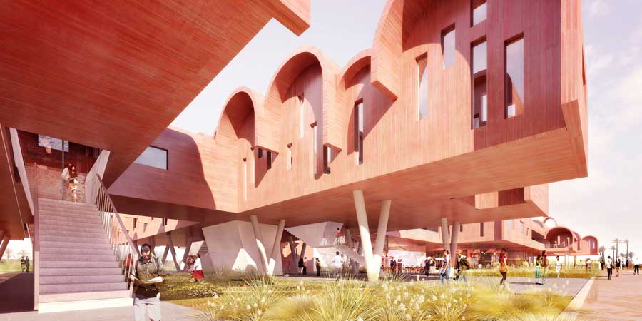 BMCE Morocco Building  Moroccan Regional Headquarters  earchitect
