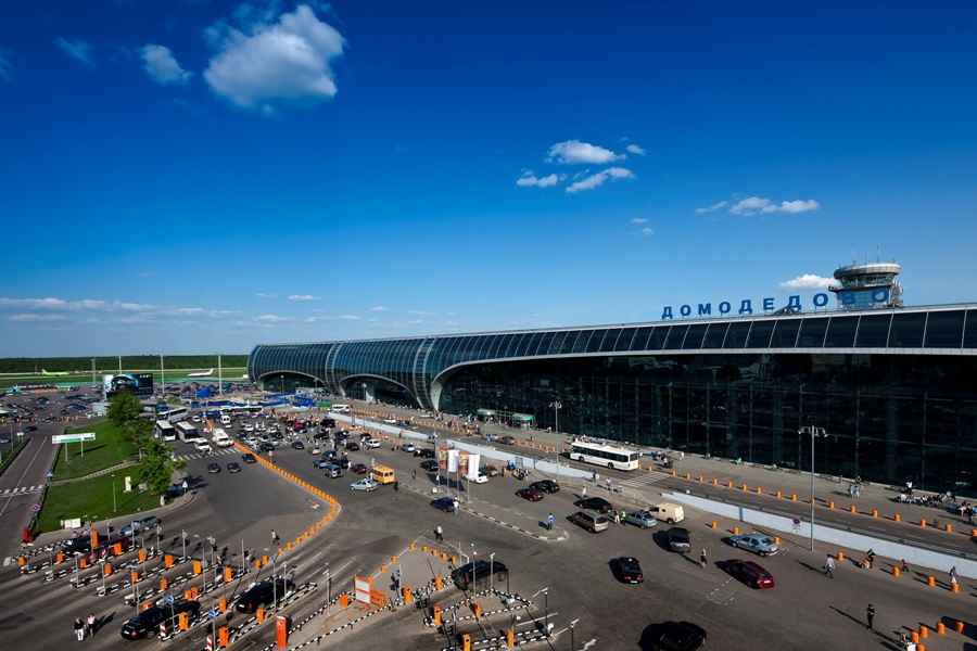 Domodedovo Airport United Terminal Moscow Russia E