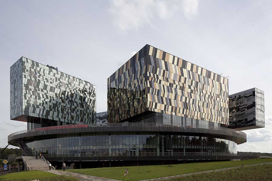 Moscow School Of Management Skolkovo Building E Architect