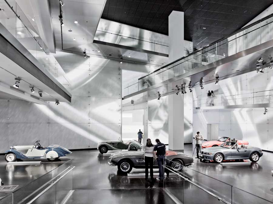 bmw museum munich building germany e architect. Black Bedroom Furniture Sets. Home Design Ideas
