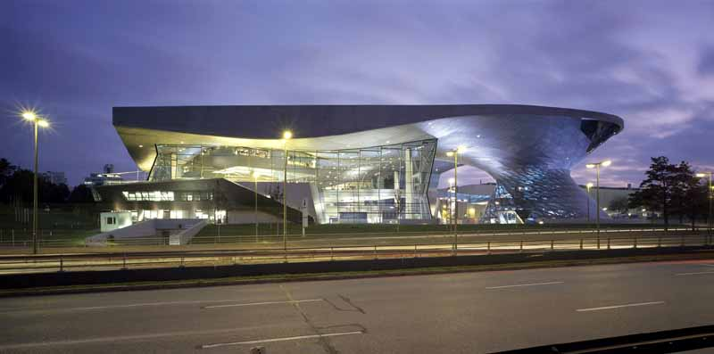 BMW Welt Munich - Event and Delivery Center - e-architect
