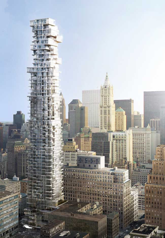 Exceptionnel New York Architecture U2013 Manhattan Building News 56 Leonard Street