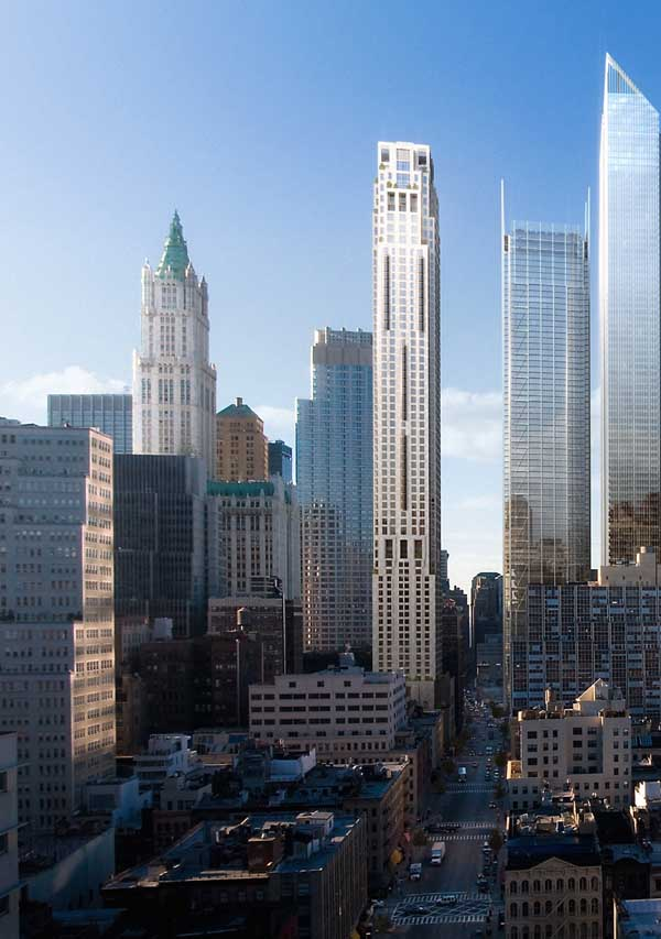 99 Church Street Wtc New York Tower E Architect