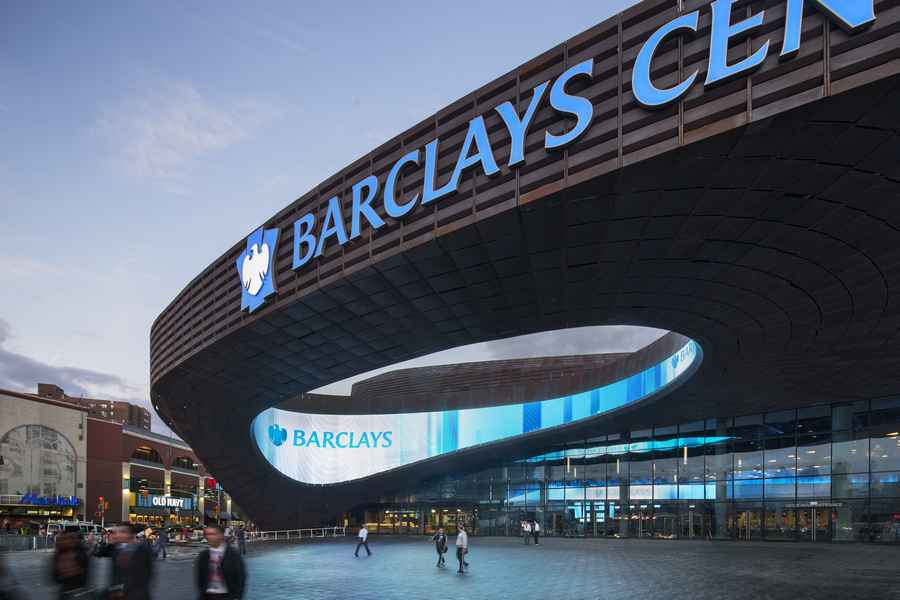 Barclays Center Brooklyn Atlantic Yards E Architect