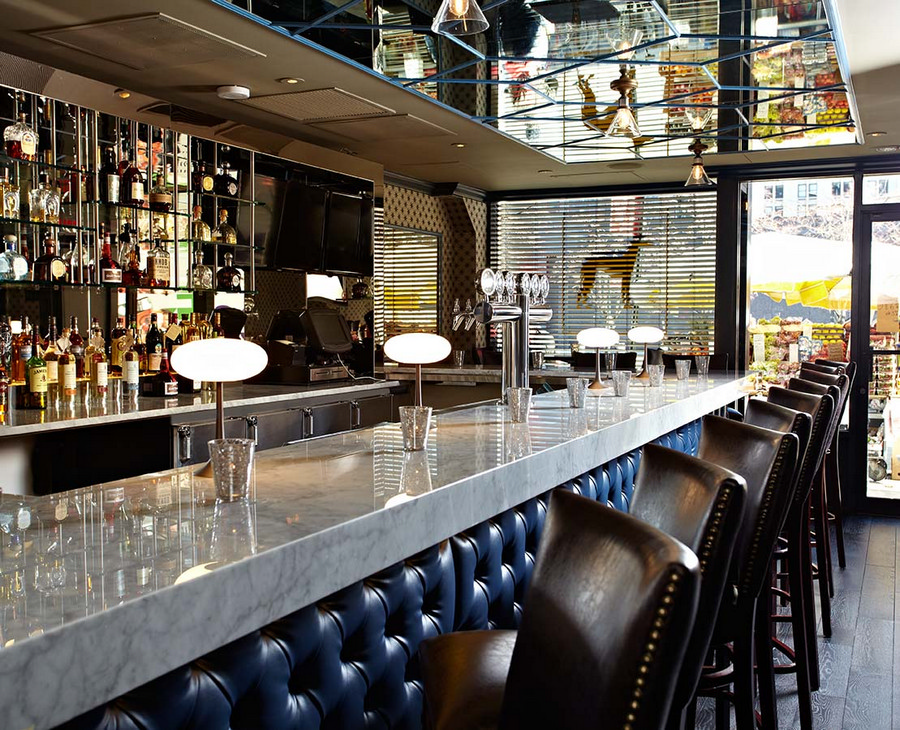 Blackhound bar and lounge new york e architect - Design lounges ...