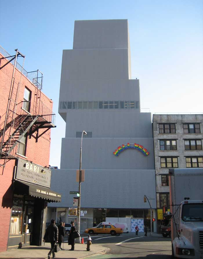 Modern Architecture Nyc new museum of contemporary art new york - e-architect
