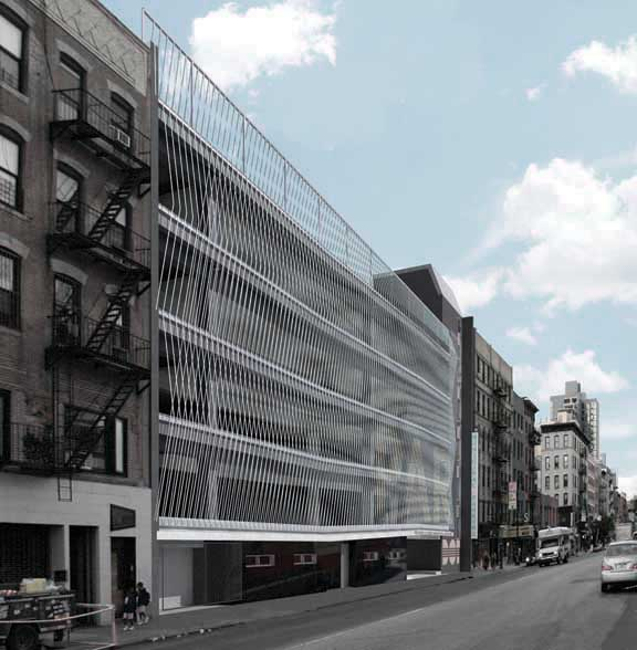 Garage Design Architecture: Michielli + Wyetzner: Manhattan Architects