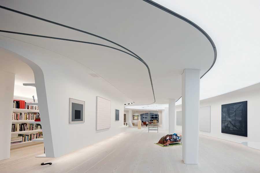 Greenwich village loft new york city flat e architect for Interior design studio nyc