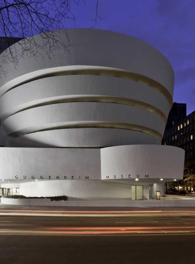 Guggenheim Frank Lloyd Wright Exhibition E Architect