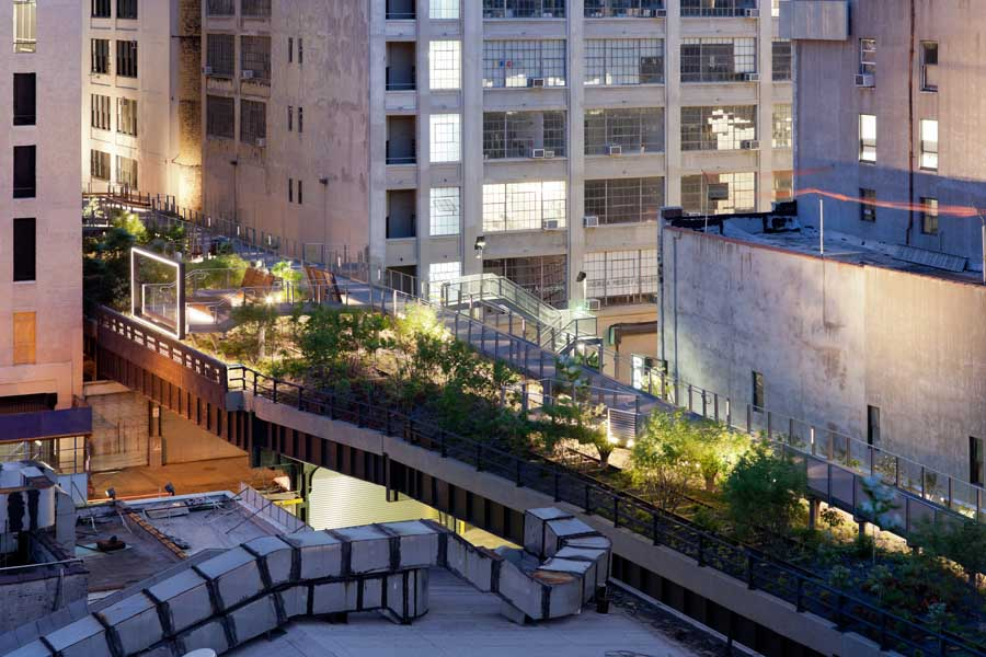 high line park new york section 2 manhattan e architect. Black Bedroom Furniture Sets. Home Design Ideas