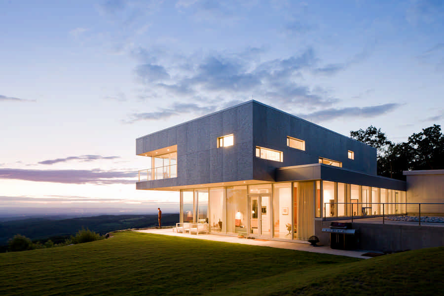 House in columbia county ny residence e architect Modern house architect new york