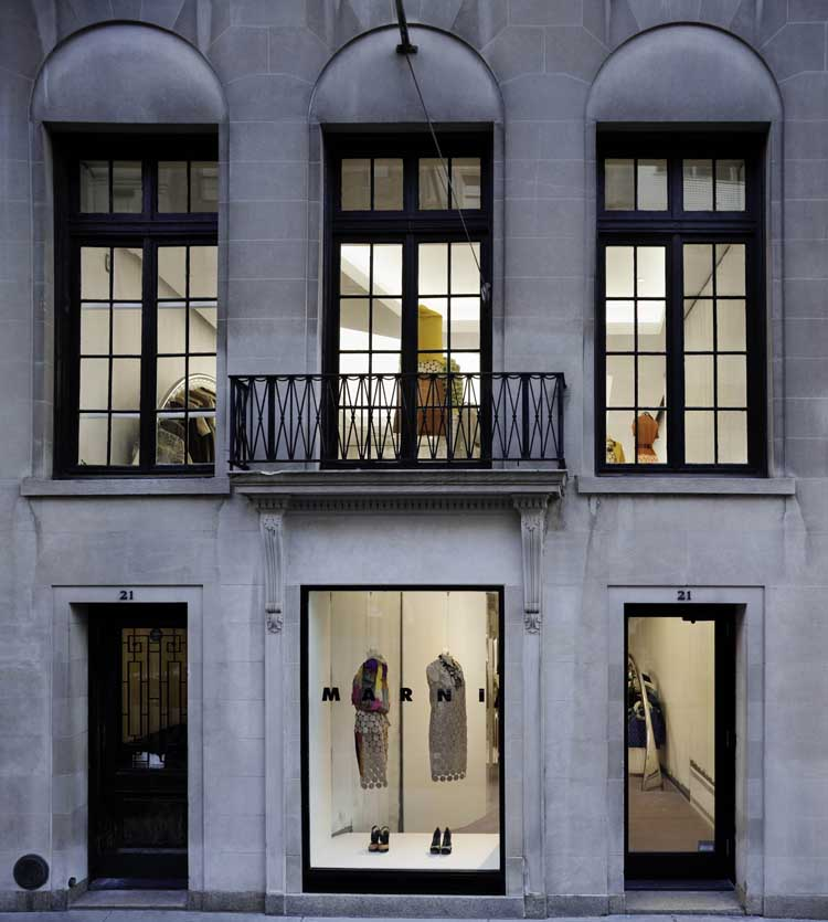 cc4e54a2d11 Marni Boutique Madison Avenue - New York Shop - e-architect