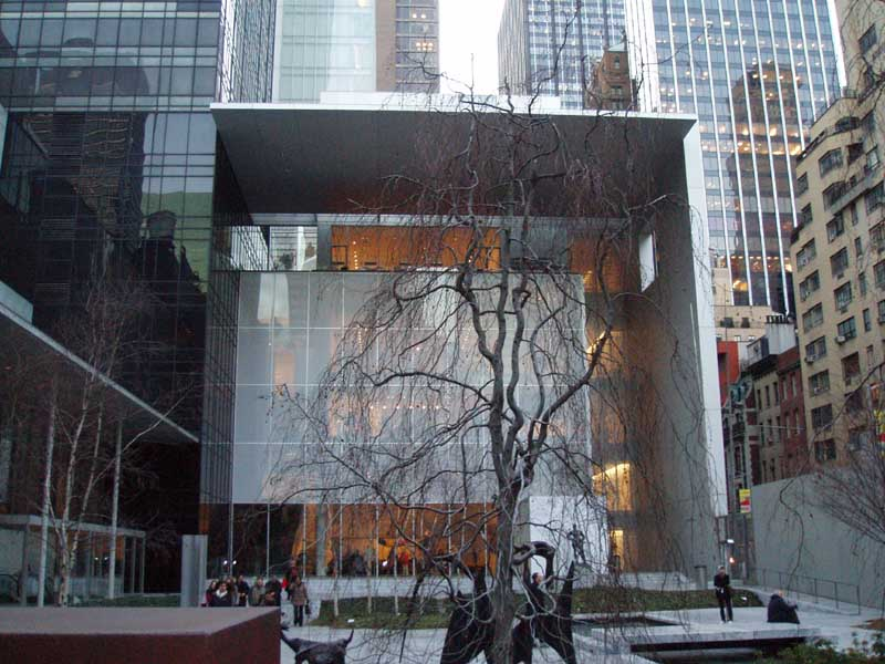 MoMA New York - Museum of Modern Art Manhattan - e-architect