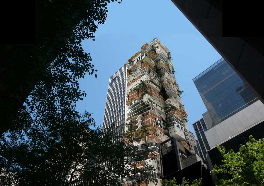 MoMA Tower Alternative by Axis Mundi, Manhattan, USA