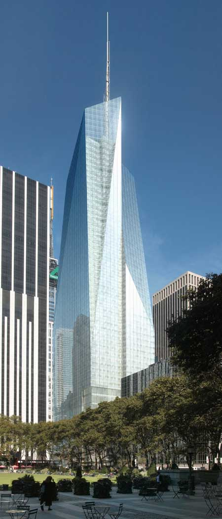 One Bryant Park New York Bank Of America Tower E Architect