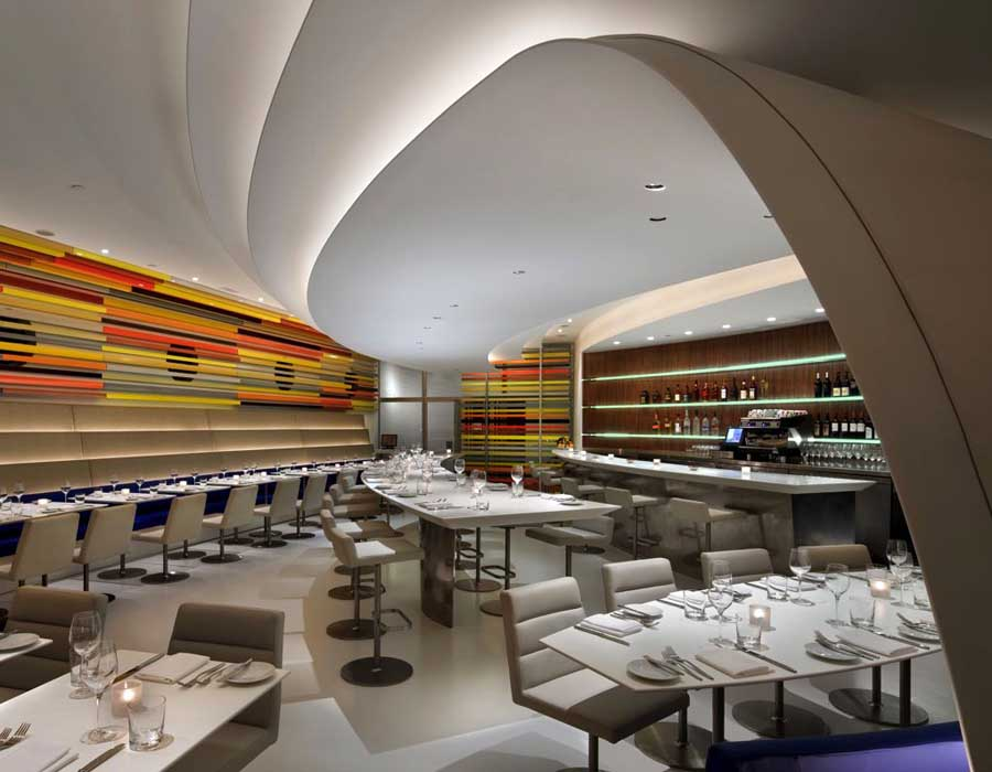 The wright guggenheim museum new york restaurant e