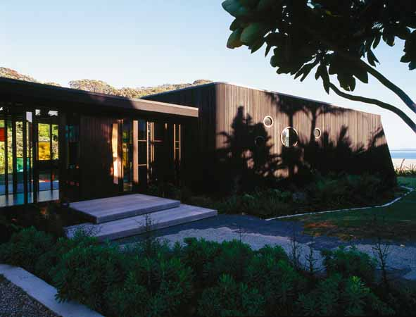 New zealand architecture photos nz building images e for Beach house designs new zealand
