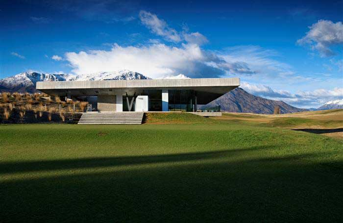 The michael hill clubhouse queenstown new zealand e for Design house architecture nz