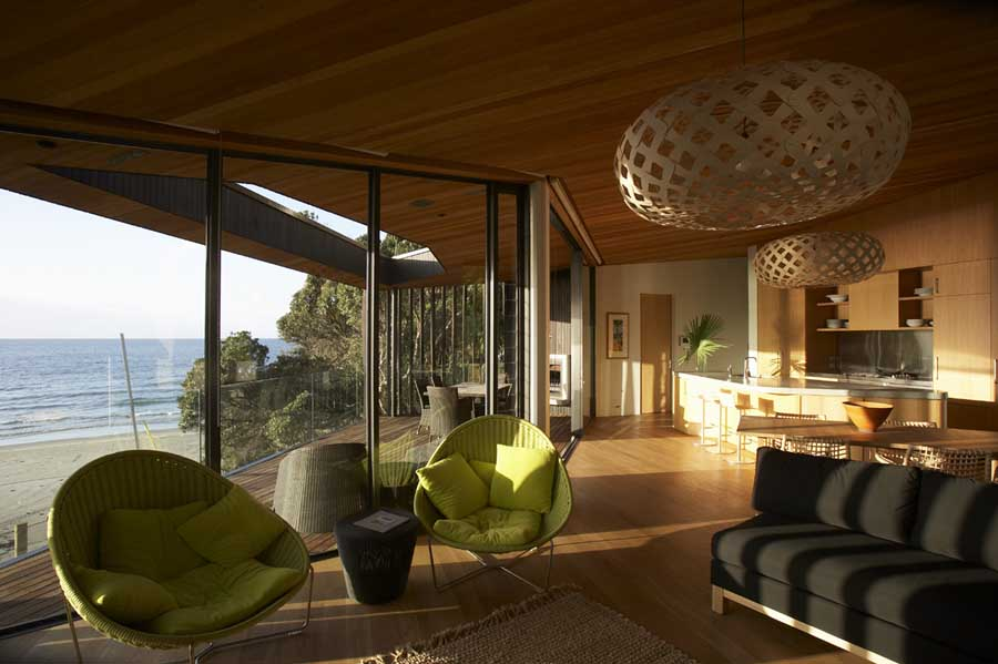 Onetangi Beach House New Zealand Property E Architect