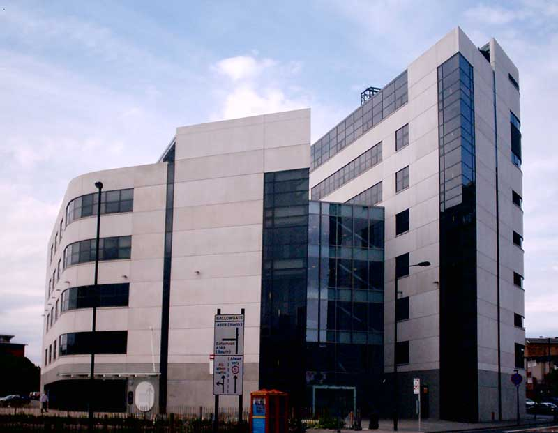 Government office for the north east newcastle england for Office design newcastle