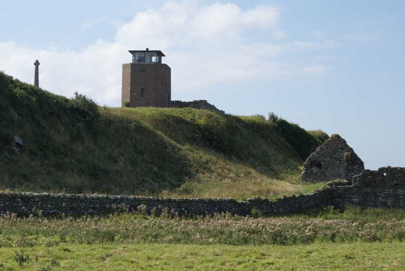 Holy island lindisfarne architecture castle e architect for Building a lookout tower