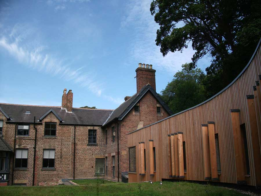 Millfield House Newcastle Jesmond Dene Park E Architect