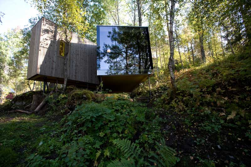 Juvet landscape hotel gudbrandsjuvet building norway for Architecture et nature