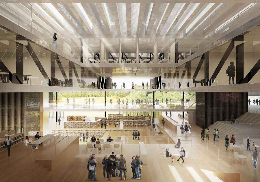 Kongsberg Cultural Centre Norway E Architect