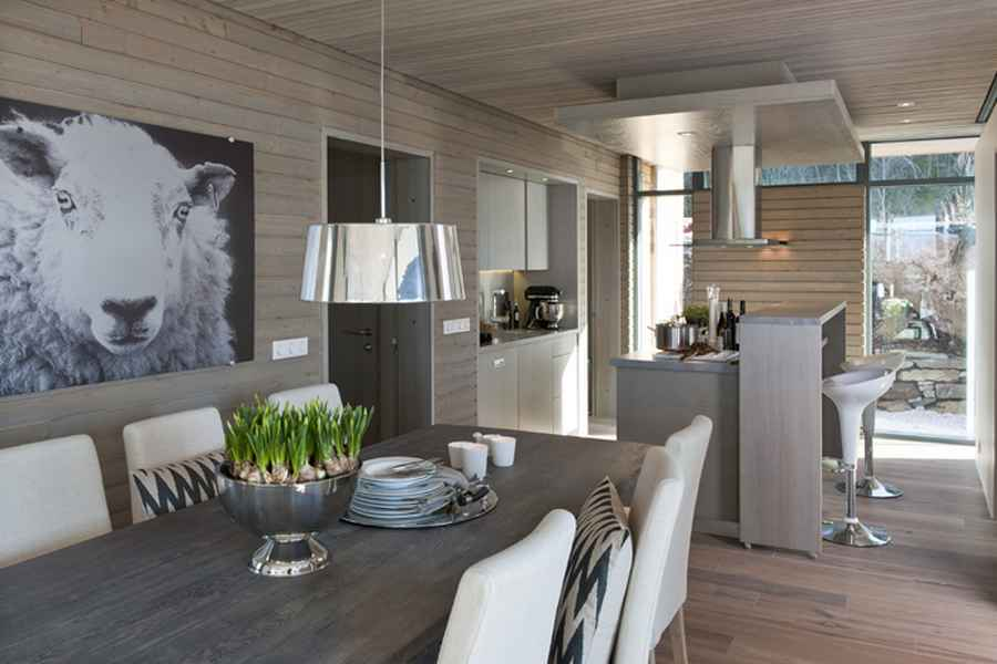 Modern cabin norway bjerg y residence gj 9 e architect for Campo co interieur
