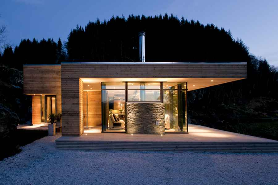 Modern Cabin Norway Bjerg Y Residence GJ 9 E Architect