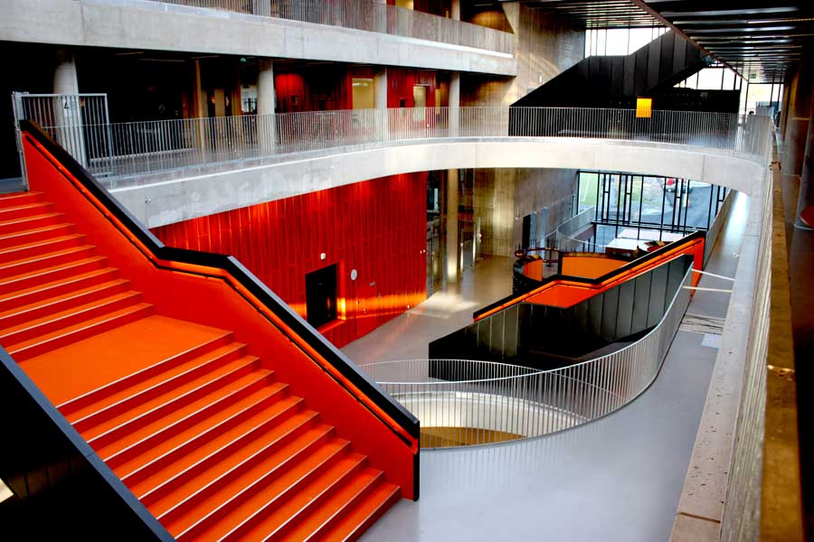 thor heyerdahl school  norway education building
