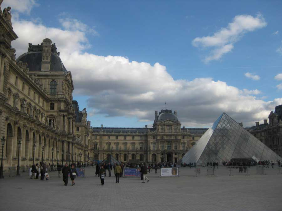 French architecture buildings in france e architect - Louvre architekt ...