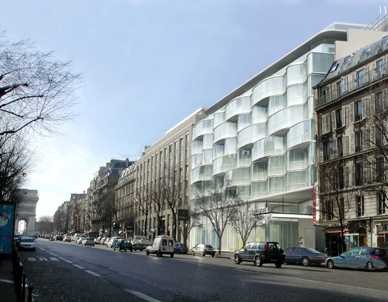 Renaissance paris wagram hotel e architect for De atelier architects