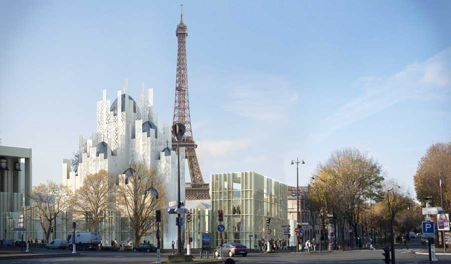 Paris architecture developments e architect for Architecture russe