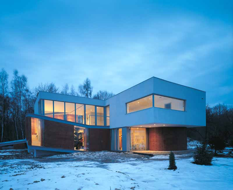Safe House New Polish Home House In Warsaw E Architect - Smart-modern-residence-in-poland