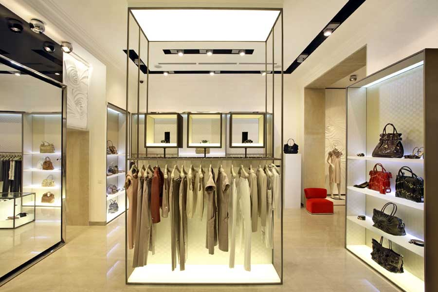Interiors designs interior design architecture e for Boutique interior design
