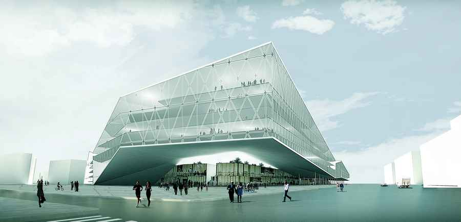 Warsaw Building - Architecture in Poland