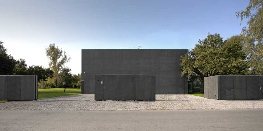Safe House - New Polish Home, House in Warsaw - e-architect