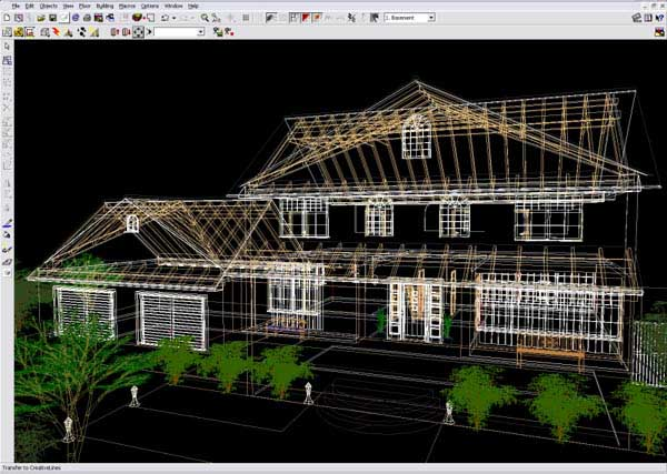 Arcon 3d architect pro cad design software e architect for Home architecture cad