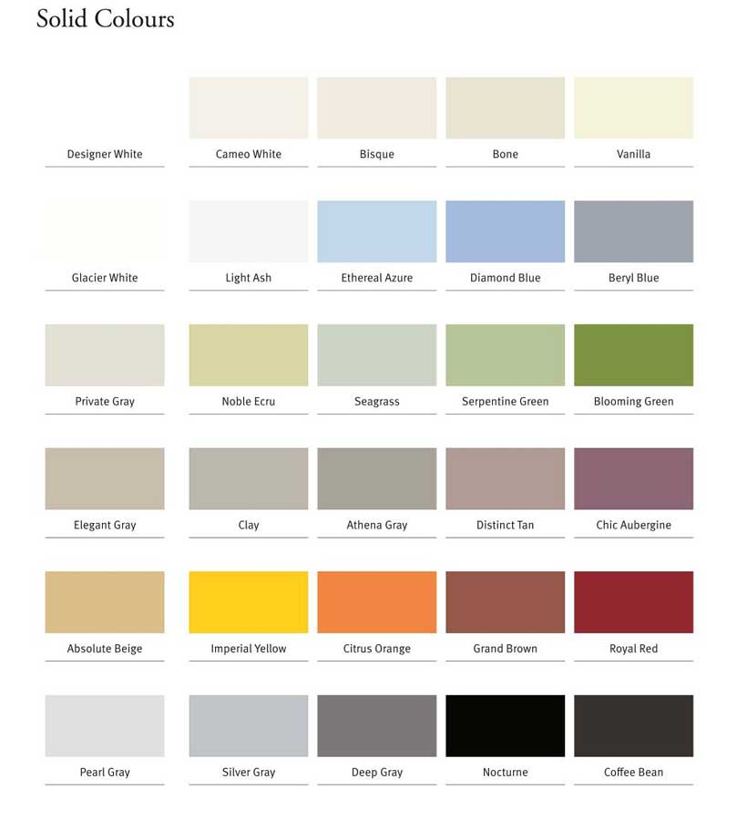 Corian High Tech Surface Colour Palette Evolution E