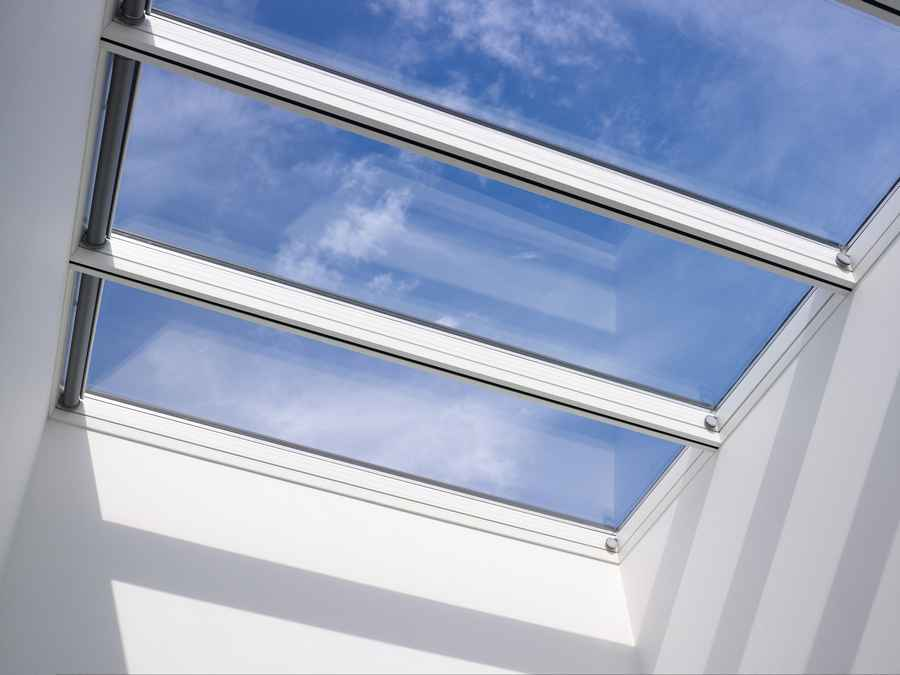 Velux modular skylight architectural glazing product e for Velux glass