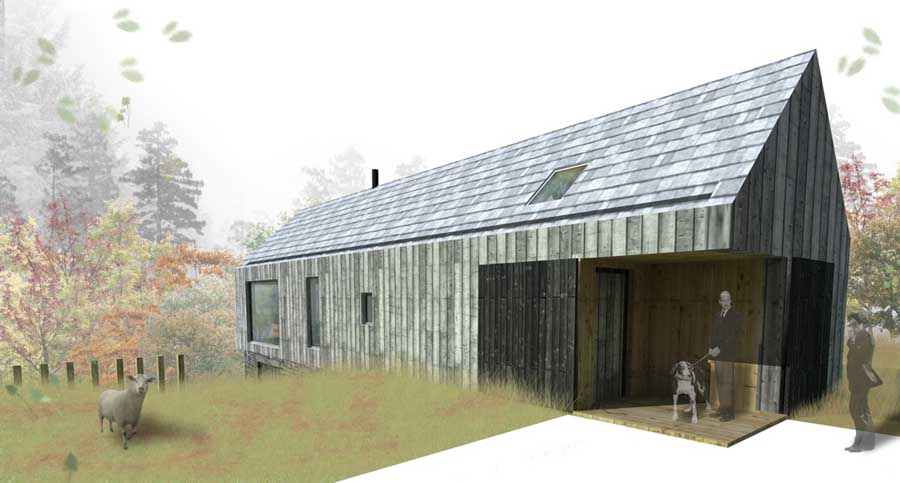 10 Inspiring Ex les Store Design additionally Beehive Cottage as well Massivholzplatten as well Architecture In Context 2 additionally Rospapage. on modern house designs uk