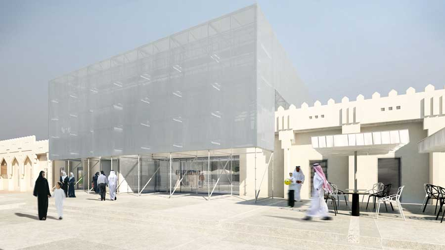 Mathaf arab museum of modern art qatar building e for Architecture islamique moderne
