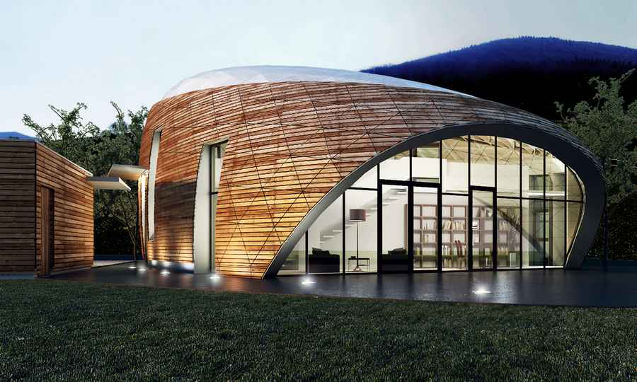 House in romania free form buildings residence e architect for Form architecture