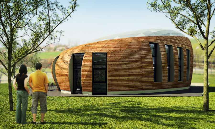 House in romania free form buildings residence e architect - Building a new house ...