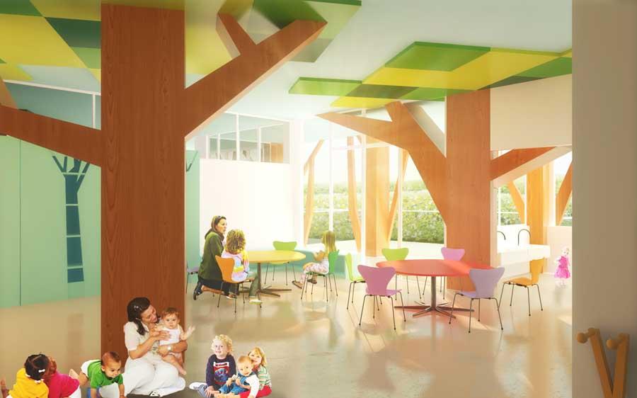 Regione Lazio Nursery School Rome E Architect