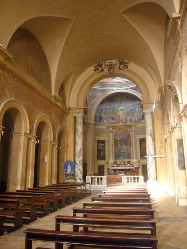 santa pudenziana rome - historic church building